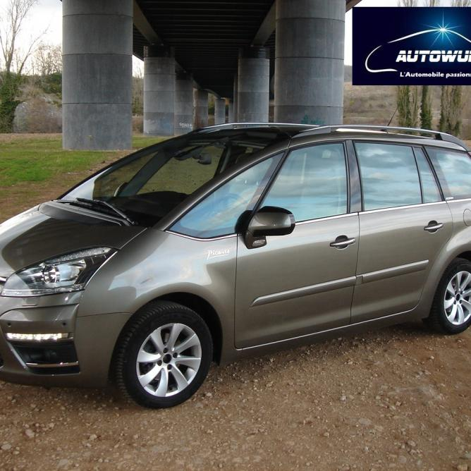 citroen grand c4 picasso ehdi 110 exclusive gps 7 places. Black Bedroom Furniture Sets. Home Design Ideas